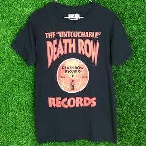 Death Row Records Logo Tee Shirt Suge Knight Snoop